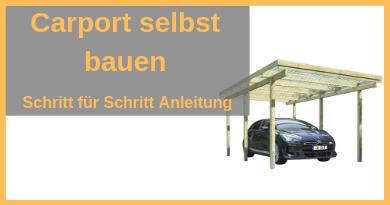 Anleitung Carport Selber Bauen