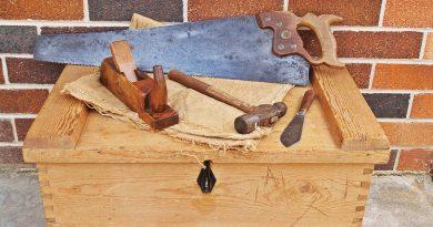 Couchtisch aus Holzkisten bauen