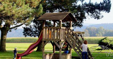 Spielplatz selbst bauen